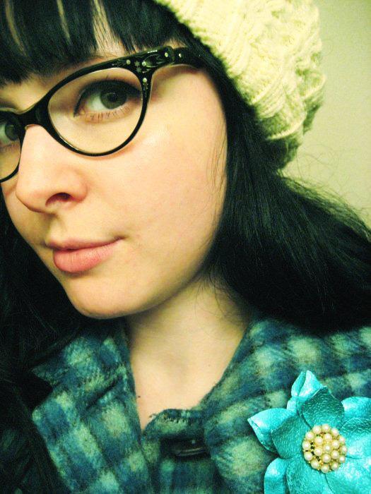 Swoony Vintage Eyeglasses Flapper Girl