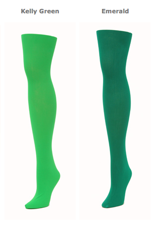 Green Knee Socks! It's True