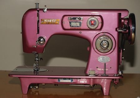 My New Old Sewing Machine Flapper Girl Awesome Morse 6300 Sewing Machine Manual