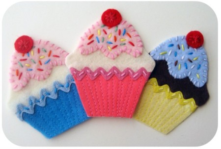 CUPCAKE APPLIQUE PATTERNS - APPLIQUE DESIGNS
