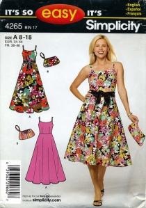 Simplicity 4265 Sun Dress