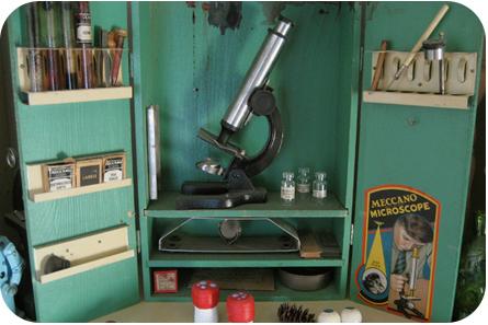 Meccano Microscope 1930s