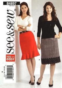 See & Sew B4897 Skirt