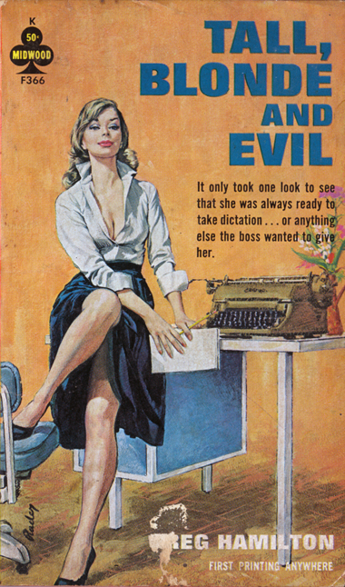 Naughty Vintage Pulp Fiction Covers  Flapper Girl-2027