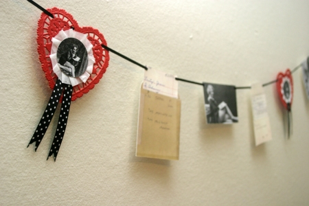 Vintage Inspired Book Garland