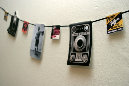 Retro Photography Garland