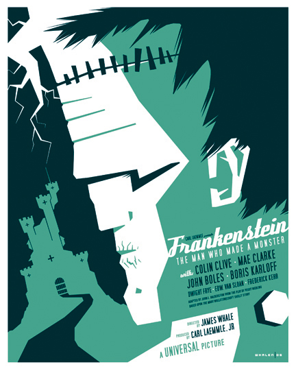 Tom Whalen's Frankenstein