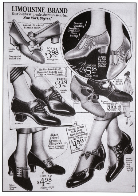 Flapper Shoes