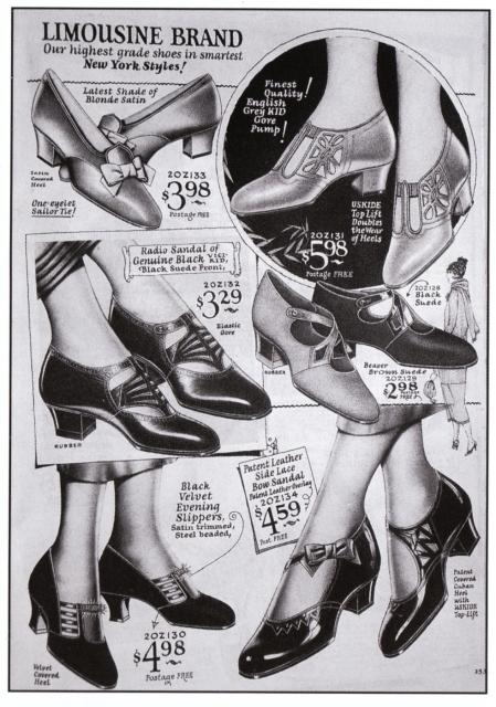 Flapper Shoes