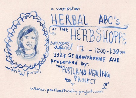 Herbal ABCs: The Herb Shoppe & Portland Healing Project