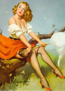 Nature Pinup