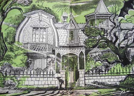 Munsters House Illustration