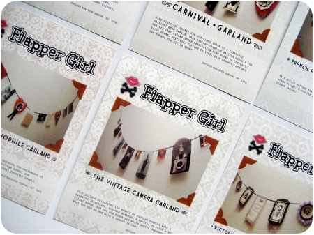 Flapper Girl Garland Packaging