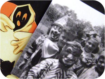 Retro Halloween Paper Scraps