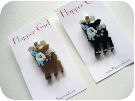 Kawaii Deer Pendants