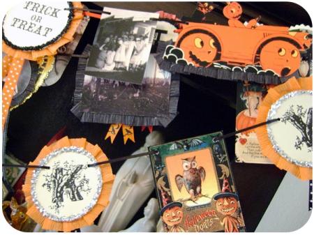 Retro Paper Halloween Garlands