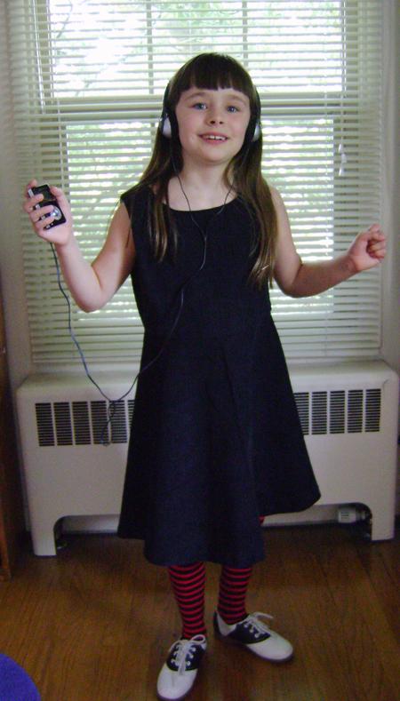 Emily Strange Inspired Dress