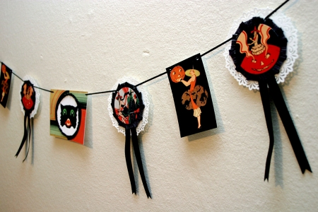 Art Deco Witch Garland