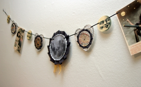 Vintage Inspired Astrology Garland