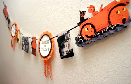 Retro Halloween Decoration