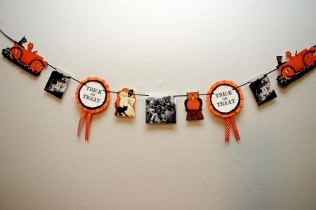 Vintage Inspired Halloween Banner