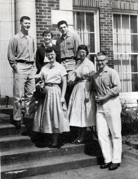 Senior Class Vintage Photo 1956