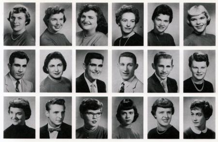Cleveland High 1956 Senior Class Portland