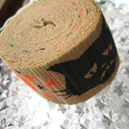 Vintage Halloween Party Streamers