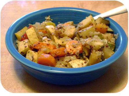 Quinoa & Roasted Veggies