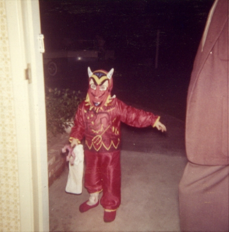 Retro Devil Halloween Costume