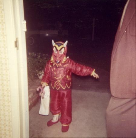 Retro Devil Halloween Costume