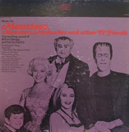 Vintage Television Soundtrack Album Munsters