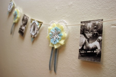 1920s-inspired Winter Garland