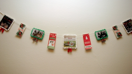 Vintage Inspired Xmas Bunting