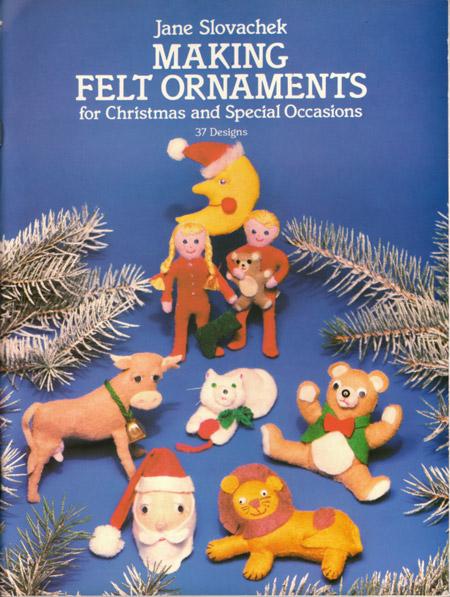 Vintage Booklet of Felt Ornament Patterns