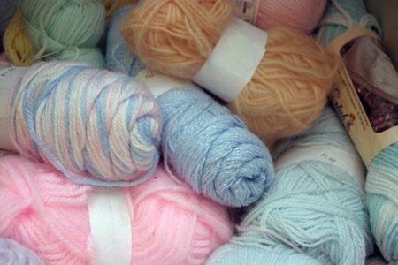Yarn at the Knittn Kitten