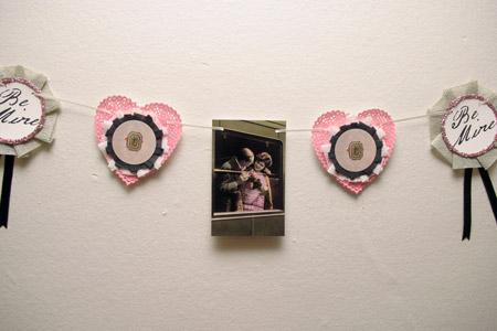Old Fashioned Valentine Garland