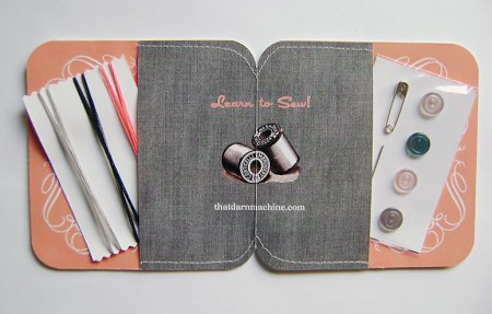 Retro Promotional Sewing Kit