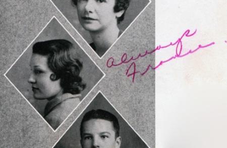 Beautiful Senior Frances 1934 Radford High
