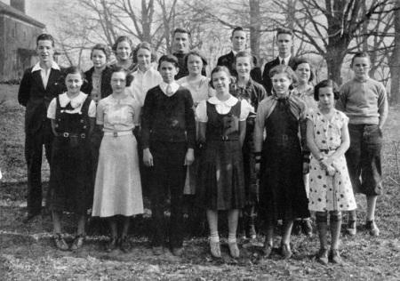 1934 Radford High Newspaper Crew