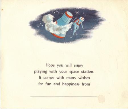 Space Book Card