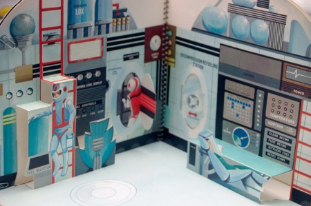 Vintage Space Station Play Set