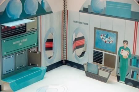 Vintage Space Set Recreation Station