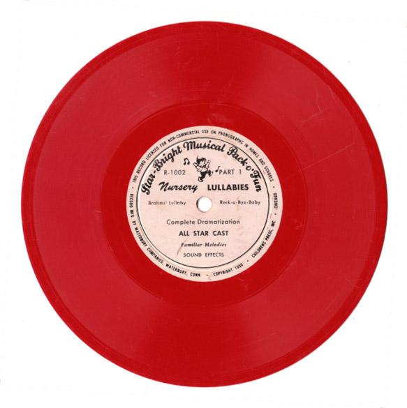Vintage recordings lps pressed on clear vinyl