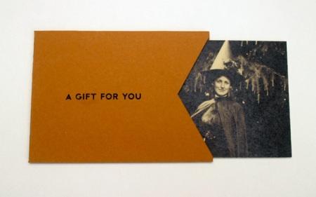 Gift Certificate & Envelope