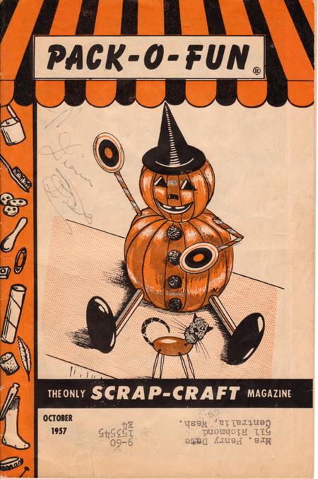 Halloween Pack-o-Fun 1957