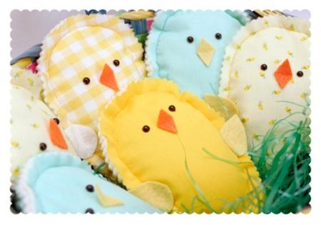 Handmade Springtime Chicks