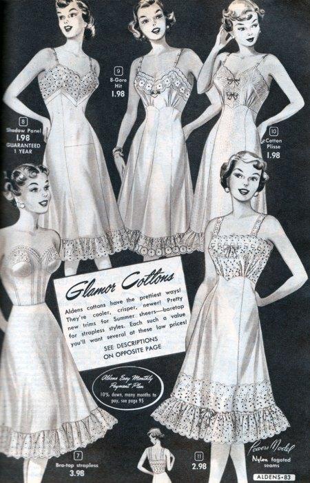 Vintage Catalog Slips 1950s
