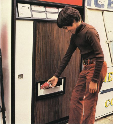 Retro Soda Vending Machine 1978