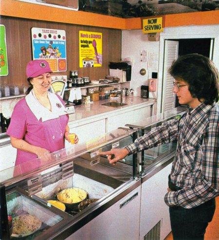 Baskin Robbins 1970s